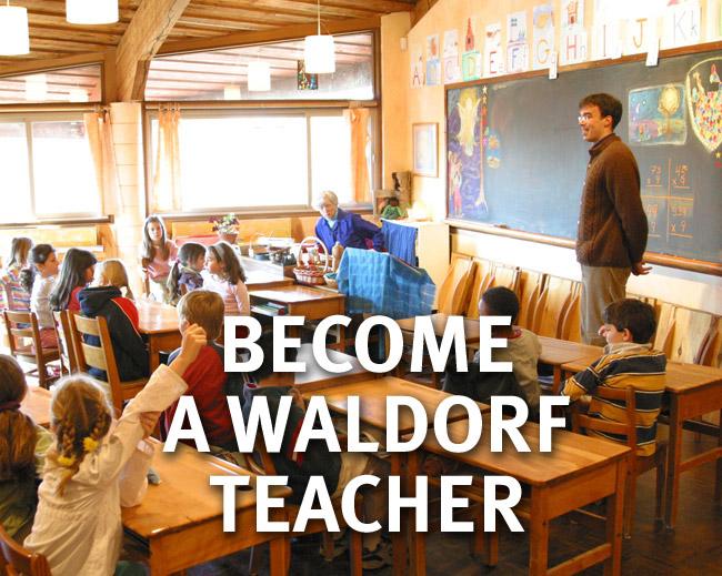 Waldorf teaching in class